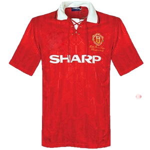 1992-1994 Manchester United home replica retro football shirt