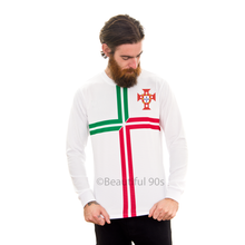 Load image into Gallery viewer, 2012 Portugal long sleeve replica retro football shirt