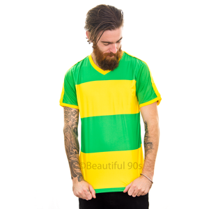 2004 Flamengo Green Yellow replica retro football shirt