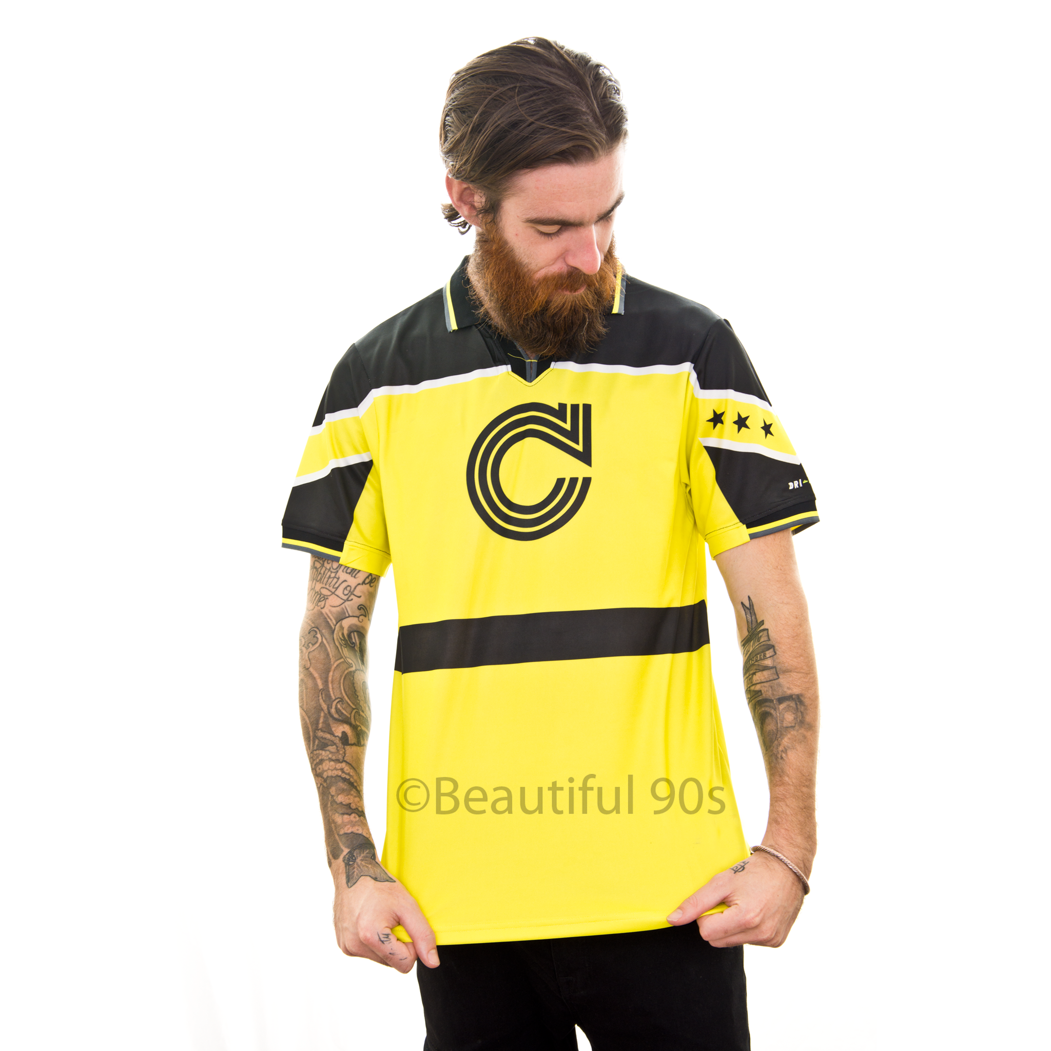 1996-1997 Dortmund replica retro football shirt