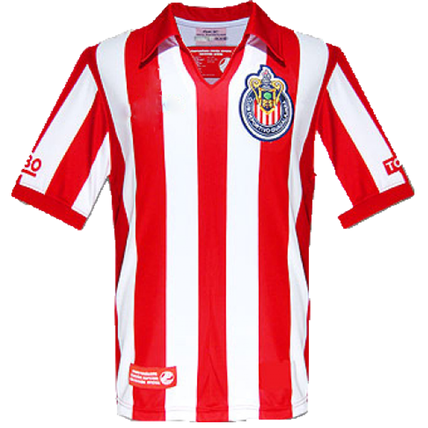 2007-2008 Las Chivas CD Guadalajara home shirt