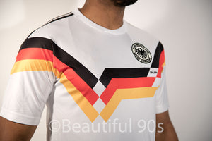 1990 West Germany Italia Home replica retro football shirt