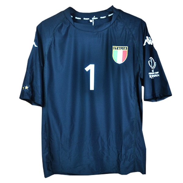 2002 World Cup Italy goalkeeper shirt