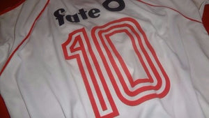 1986 River Plate Fate Home retro replica football shirt