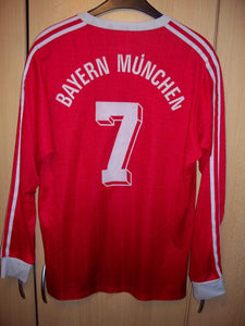 1991 Munich home retro replica football shirt