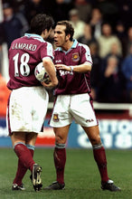 Load image into Gallery viewer, 1999-2001 West Ham Lampard home replica retro football shirt