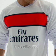 Load image into Gallery viewer, 2012-2013 Paris Long Sleeve away retro replica football shirt