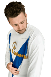 2003-2004 Brescia away long sleeve retro replica football shirt