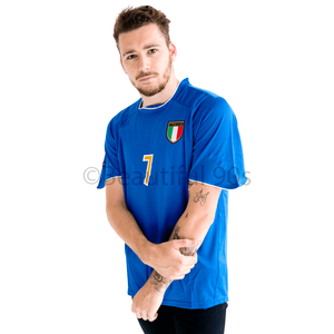 2003-2004 Italy home replica retro football shirt