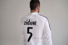Load image into Gallery viewer, 2006 Long Real Madrid home white retro replica football shirt