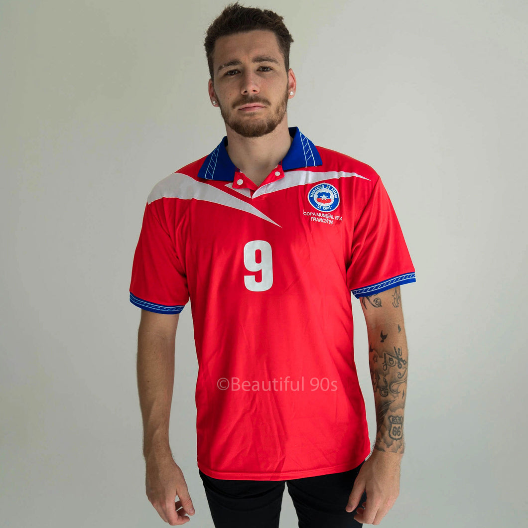 1997-1998 Chile home retro replica football shirt