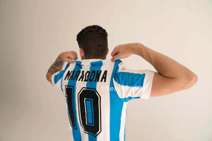 1986 Argentina Maradona World Cup replica retro football shirt