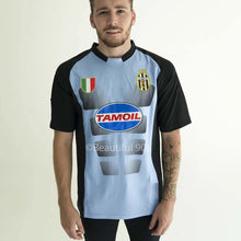 Load image into Gallery viewer, 2002-2003 Juventus goalkeeper blue retro replica football shirt