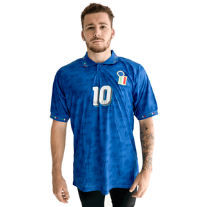 1994 World Cup Italy home replica retro football shirt