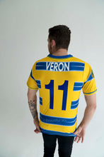 Load image into Gallery viewer, 1998-1999 Parma Crespo Veron home short sleeve replica retro football shirt