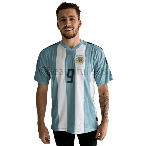 1998 Argentina home replica retro football shirt