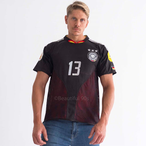 2004 Germany away retro replica football shirt