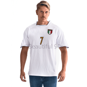 2003-2004 Italy away replica retro football shirt