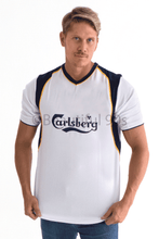 Load image into Gallery viewer, 2001-2002 Liverpool Gerrard away retro replica football shirt