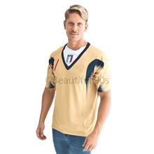 Load image into Gallery viewer, 2006 Italy goalkeeper gold replica retro football shirt