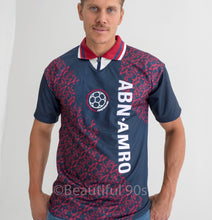 Load image into Gallery viewer, 1994-1995 Amsterdam Away ABN AMRO retro replica football shirt