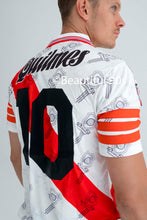 Load image into Gallery viewer, 1996-1997 River Plate Quilmes replica retro football shirt