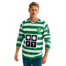 Load image into Gallery viewer, 2002-2003 Lisbon Ronaldo long sleeve replica retro football shirt