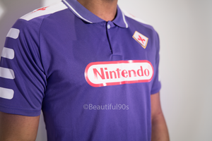 1998-1999 ACF Fiorentina retro replica football shirt
