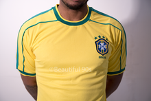 Load image into Gallery viewer, 1998-2000 Brazil Home shirt