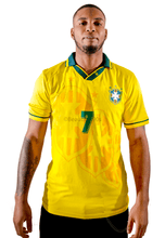 Load image into Gallery viewer, 1993-1994 Brazil World Cup replica retro football shirt