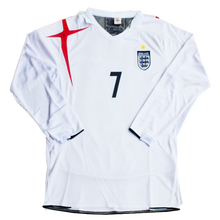 Load image into Gallery viewer, 2006 World Cup England long sleeve home shirt
