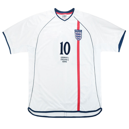 2002 England World Cup shirt