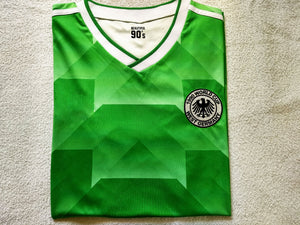 1990 West Germany Away replica retro football shirt