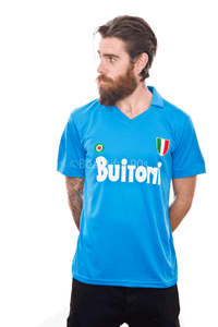 1987-1988 Maradona Napoli home replica retro football shirt