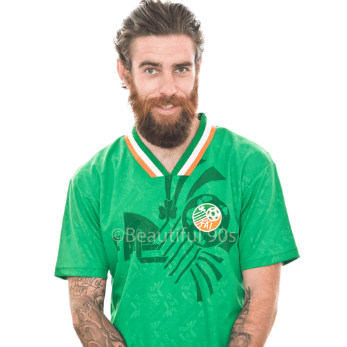 1994 Roy Keane Ireland home replica retro football shirt