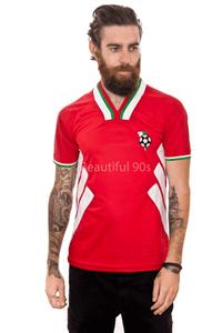1994 Bulgaria away replica retro football shirt