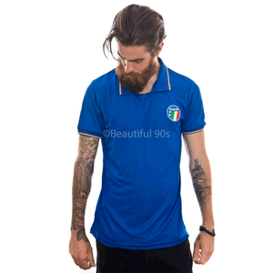 1986 Italy home replica retro football shirt