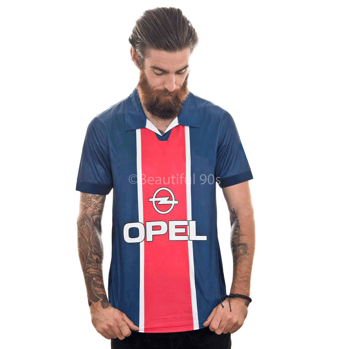 1998 Paris home retro replica football shirt