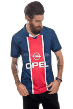 Load image into Gallery viewer, 1998 Paris home retro replica football shirt