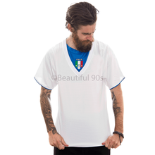 Load image into Gallery viewer, 2006 Italy away white replica retro football shirt