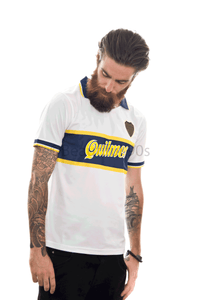 1997 Boca Quilmes away replica retro football shirt