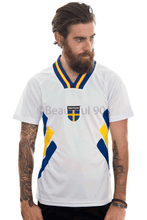 Load image into Gallery viewer, 1994 Sweden away replica retro football shirt