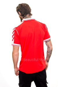 1998 Denmark home replica retro football shirt