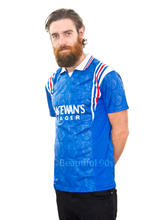Load image into Gallery viewer, 1996-1997 Rangers McEwan's home replica retro football shirt