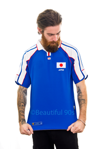 2000-2001 Japan home replica retro football shirt