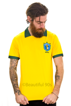 Load image into Gallery viewer, 1988 Brazil home replica retro football shirt