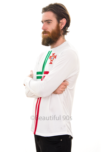 2012 Portugal long sleeve replica retro football shirt