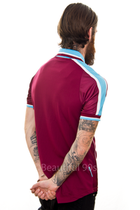 1999-2001 West Ham Lampard home replica retro football shirt