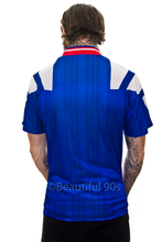 Load image into Gallery viewer, 1992-1994 Rangers home replica retro football shirt