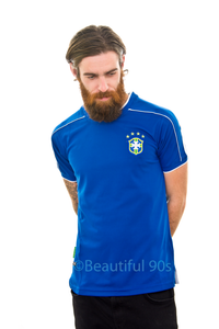 1998 Brazil away replica retro football shirt